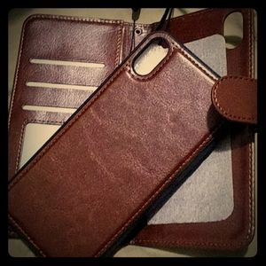 Leather Detachable Wallet Cover (iPhone Xs Max)